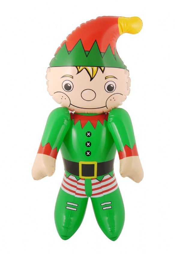 Inflatable Elf Novelty Santas Helper Christmas Decoration 120cm